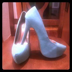 Mint green Charlotte Russe heels